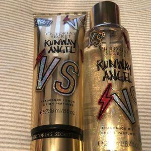 Victoria's Secret Runway Angel Lotion & Mist Set